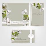 Wedding invitation Apple Stock Photo