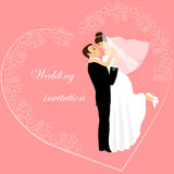 Wedding invitation 11 Royalty Free Stock Photo