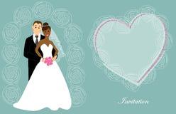 Wedding invitation 7 Stock Photography