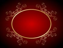 Wedding invitation background. Elegant wedding invitation/ anniversary background / frame design with swirls. can be use as wedding , anniversary, valentines day stock illustration