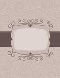 Wedding invitation background Stock Photos