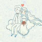 Wedding invitation. Stock Image