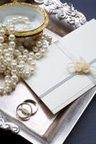 Wedding invitation. Royalty Free Stock Photo