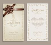Wedding invitation Royalty Free Stock Image