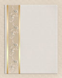 Wedding invitation border elegant Royalty Free Stock Photography