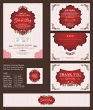 Wedding Invitation / Bridal shower with floral bouquets and wreath design. Wedding Invitation - Bridal shower with floral bouquets and wreath design, Suitable vector illustration