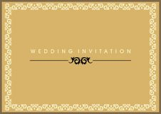 Free Wedding Invitation Card Royalty Free Stock Photography - 10205577