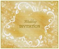wedding invitation card Stock Photography