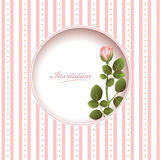 Wedding invitation card Royalty Free Stock Photo