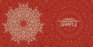 Wedding or invitation card design made of tribal