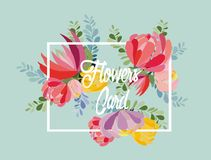 Wedding invitation card with flower. Floral background. Wedding invitation card with flower. Romantic Peonies background Royalty Free Stock Image