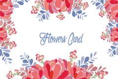 Wedding invitation card with flower. Romantic Peonies background.  Stock Photos