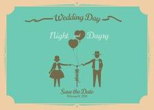 Wedding invitation card. Royalty Free Stock Images