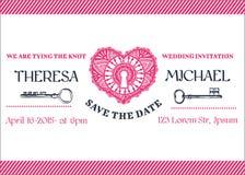 Wedding Invitation Card Royalty Free Stock Images