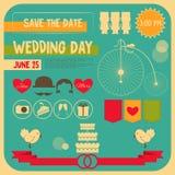 Wedding Invitation Card Royalty Free Stock Photos