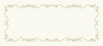 Wedding invitation card template Royalty Free Stock Photography