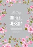 Wedding invitation card. Royalty Free Stock Photo
