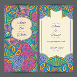 Wedding Invitation Card Template Royalty Free Stock Photos