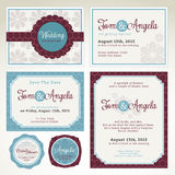 Wedding invitation card templates