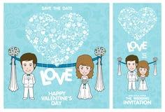 Wedding Invitation Card. Valentine Card Royalty Free Stock Image