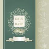 Wedding invitation cards Stock Images