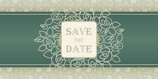 Wedding invitation cards Stock Photography