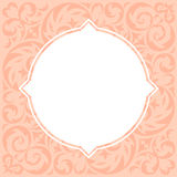 Wedding invitation cards with floral elements. Vector illustration Royalty Free Stock Images