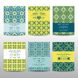 Wedding Invitation Cards Set Stock Photography