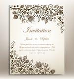 Wedding invitation Royalty Free Stock Photography