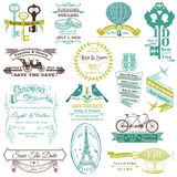 Wedding Invitation Collection royalty free illustration