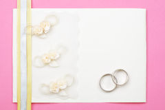 Wedding invitation. Royalty Free Stock Image