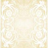 Wedding invitation. Delicate lace wedding invitation. Vector illustration Royalty Free Stock Images