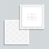Wedding invitation design Stock Image