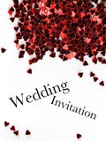 Wedding invitation Royalty Free Stock Photo