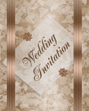 Wedding invitation elegant Royalty Free Stock Photography