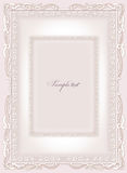 Wedding invitation, frame Royalty Free Stock Photo