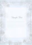 Wedding invitation, frame Royalty Free Stock Images