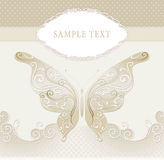 Wedding invitation, frame Royalty Free Stock Images
