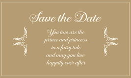 Wedding invitation greeting card style Royalty Free Stock Images
