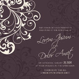 Wedding invitation and save the date cards Royalty Free Stock Photos