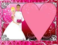 Wedding Invitation Template 6 Royalty Free Stock Photos