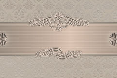 Wedding invitation template. Stock Images
