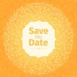 Wedding invitation template. vector. Stock Image