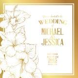 Wedding invitation text Stock Photos