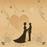 Wedding invitation Royalty Free Stock Photography