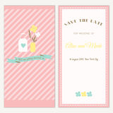 Wedding invitation. Stock Images