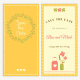 Wedding invitation. Royalty Free Stock Images
