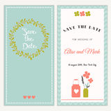 Wedding invitation. Stock Image