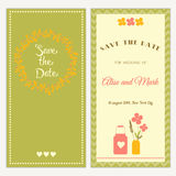 Wedding invitation. Royalty Free Stock Photo