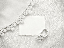 Wedding invitation, valentine day concept, black and white card Royalty Free Stock Images